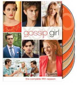 Gossip Girl S5 on DVD
