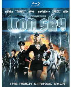 Iron Sky on blu-ray