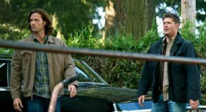 Jensen Ackles and Jared Padalecki in Supernatural r