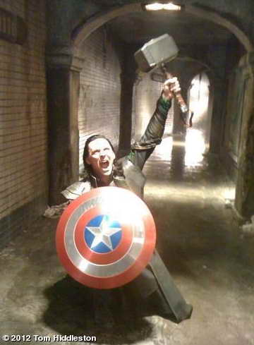 Loki steals everyone's stuff in The Avengers
