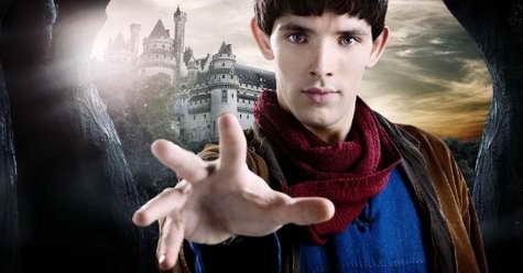 Merlin season 5 premiere date - pictured Colin Morgan as Merlin