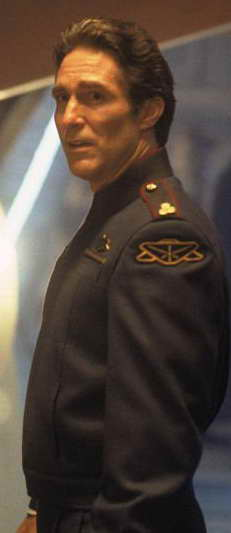 Michael O'Hare in Babylon 5 as Jeffrey Sinclair