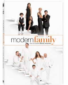 Modern Family season 3 on DVD
