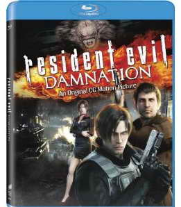 Resident Evil Damnation on Blu-ray
