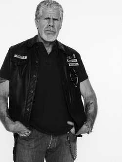 Ron Perlman as Clay in Sons of Anarchy r