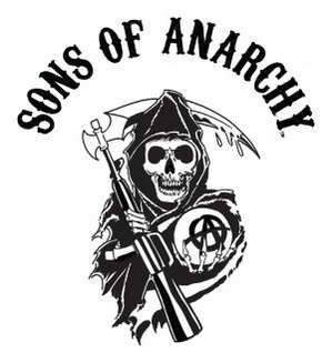 Sons of Anarchy review - the reaper logo