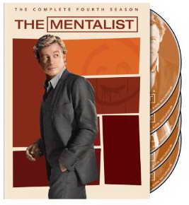 The Mentalist season 4 on DVD