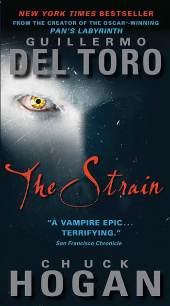 TV News - The Strain trilogy by Guillermo del Toro