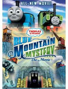 Thomas and Friends Blue Mountian Mystery on DVD