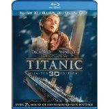 Titanic rerelease on Blu-ray