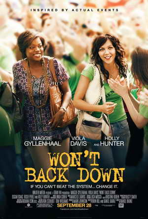 Won't Back Down movie poster