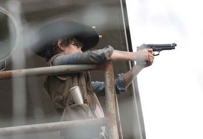 AMC's The Walking Dead - Carl Grimes (Chandler Riggs)