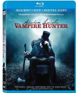 Abraham Lincoln Vampire Hunter on Blu-ray