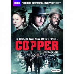 Copper Season One on DVD