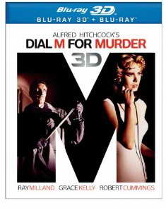 Dial M for Murder on 3d Blu-ray