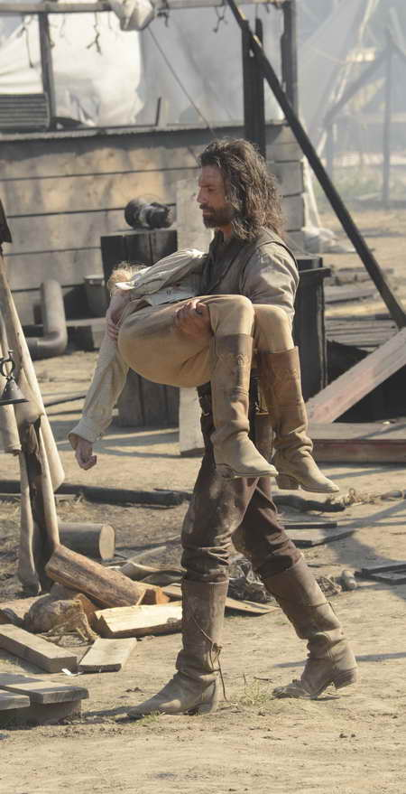 Hell on Wheels, Cullen loses a loved one in season finale