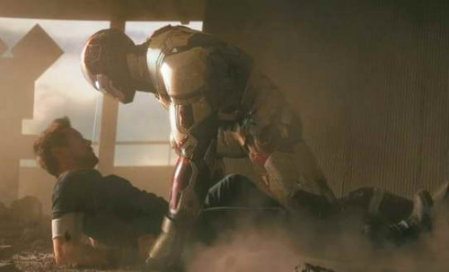 Iron Man 3 - Extremis Armor a movie trailer still