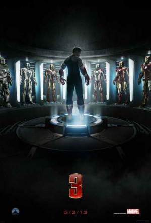 Iron Man 3 movie poster A1