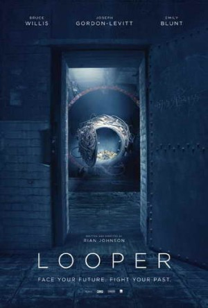 Looper movie promo art and spoiler chats