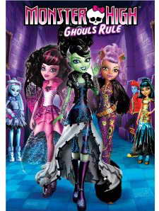 Monster High Ghouls Rule on DVD