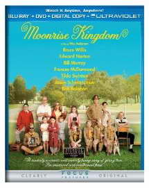 Moonrise Kingdom on Blu-ray