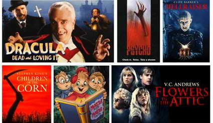 Netflix Halloween Programming schedule