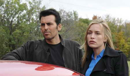 Oded Fehr, &amp; Piper Perabo in Covert Affairs