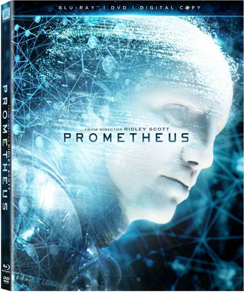 Prometheus blu-ray, dvd, digital copy