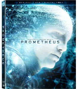 Prometheus on blu-ray