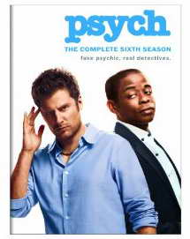 Psych Season Six on DVD