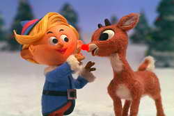 Rudolph the Red-Nose Reindeer holiday programming on CBS