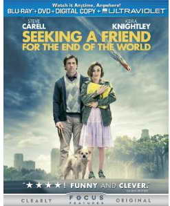 Seeking a Friend for the End of the World on Blu-ray