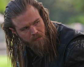 Sons of Anarchy Ryan Hurst as Opie (what was Opie's funeral song)