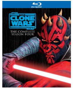 Star Wars The Clone Wars - Season Four on blu-ray