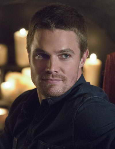 Stephen Amell as Oliver Queen in Arrow