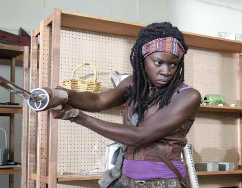 The Walking Dead on AMC - Michonne (Danai Gurira)