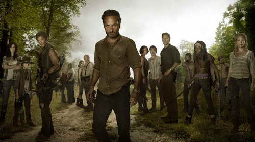 The Walking Dead season 3 premiere promo art