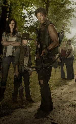 The Walking Dead season 3 promo art - Norman Reedus as Daryl Dixon