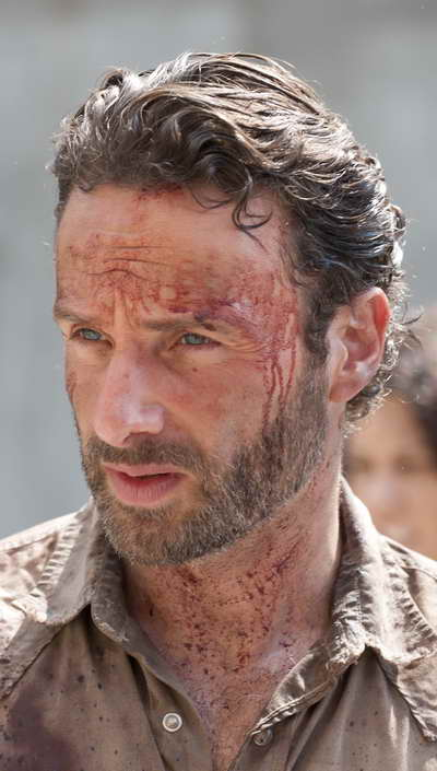 The Walking Dead season premiere on AMC (Rick Grimes (Andrew Lincoln))