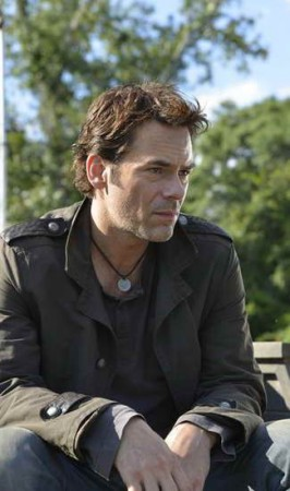 a production still of Billy Burke in Revolution
