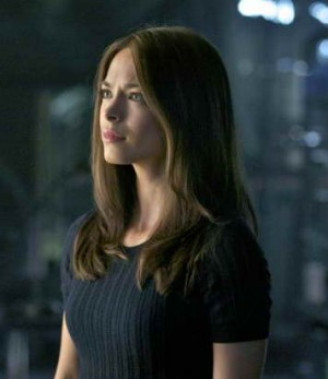 a production still of Kristin Kreuk in Beauty and the Beast