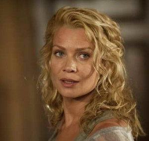 a still of Laurie Holden as Andrea in The Walking Dead