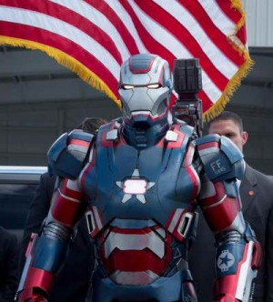 an Iron Man 3 movie still C