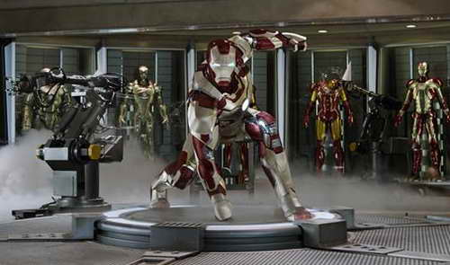 an Iron Man 3 movie still