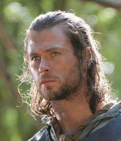 Chris Hemsworth in Snow White and the Huntsman