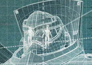 Pacific Rim - Jaeger Gipsy Danger head close up