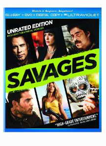 Savages on DVD