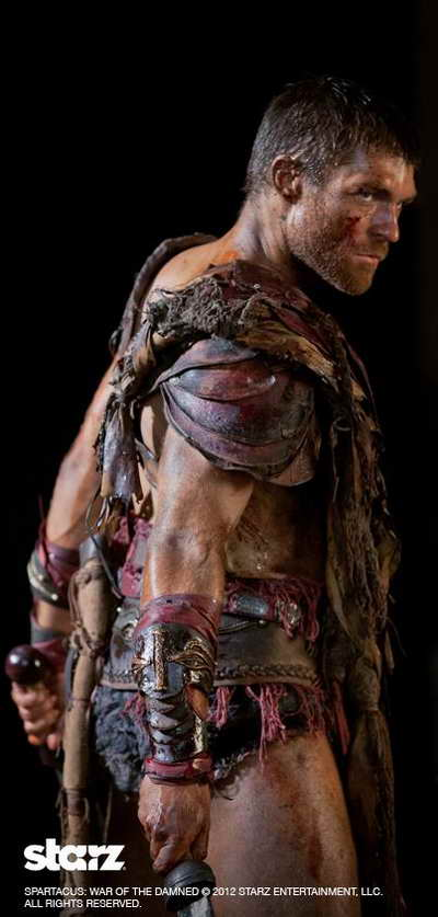 Spartacus War of the Damned season 3 on Starz  Liam McIntyre