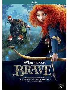 Brave on DVD