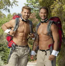 Chippendales from The Amazing Race